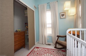 A gender neutral, not color neutral, nursery on a budget