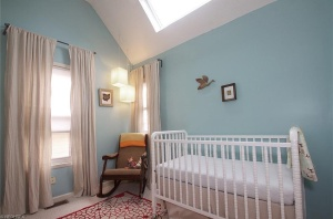 Gender neutral, not color neutral, nursery
