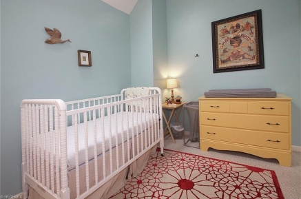 A gender neutral, not color neutral, nursery