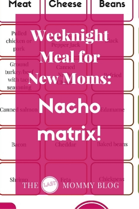weeknight meal - nacho matrix