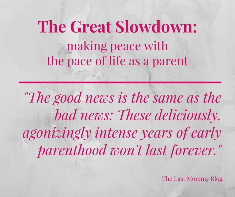Life as a parent