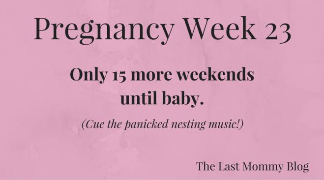 Pregnancy Week 23